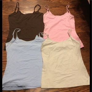 Bundle of 4 BP. Stretch Camisoles